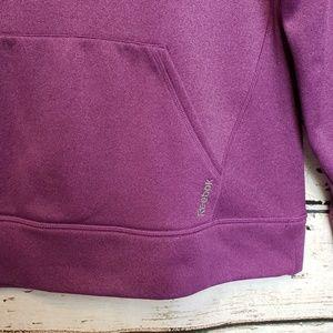 Reebok Tops - 🛒 Womens Reebok Purple Hoodie Kangaroo Pouch XL